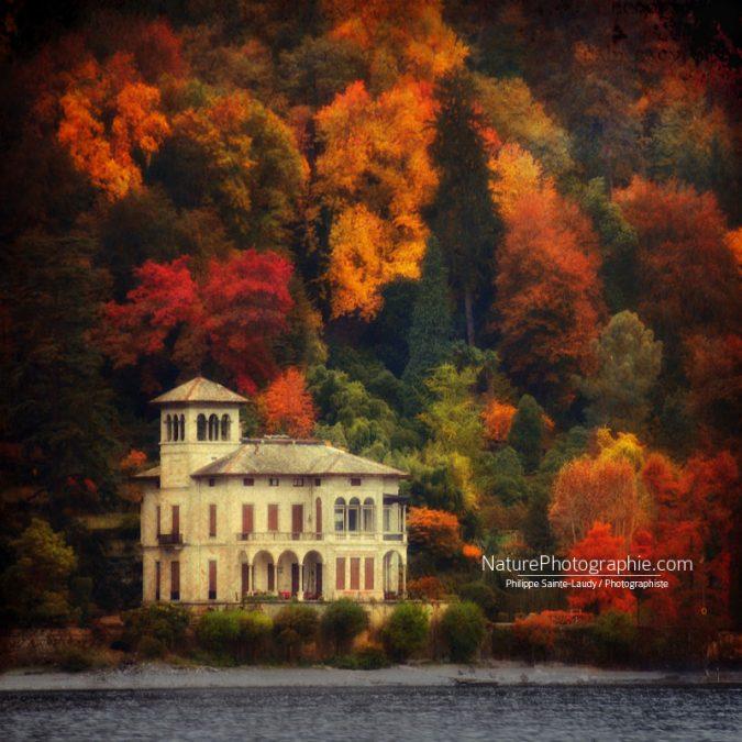 Lac de Côme en automne