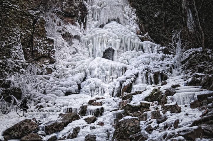 Cascade gelé du Nidek