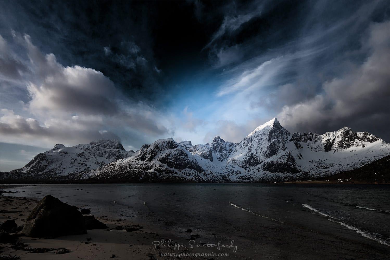 Montagnes des Lofoten – Norvège