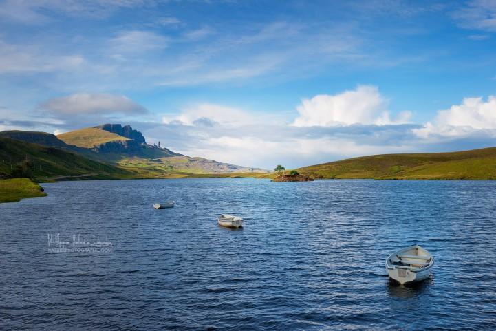 Le Old Man of Storr sur l'île de Skye