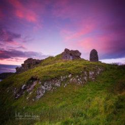Couchers de soleil et paysages sur Skye