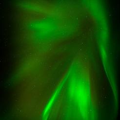 Aurore boréale sur les Lofoten