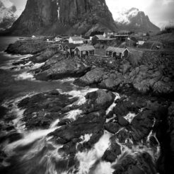 Photos Noir & Blanc des iles Lofoten