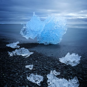 Jokulsarlon univers de glace
