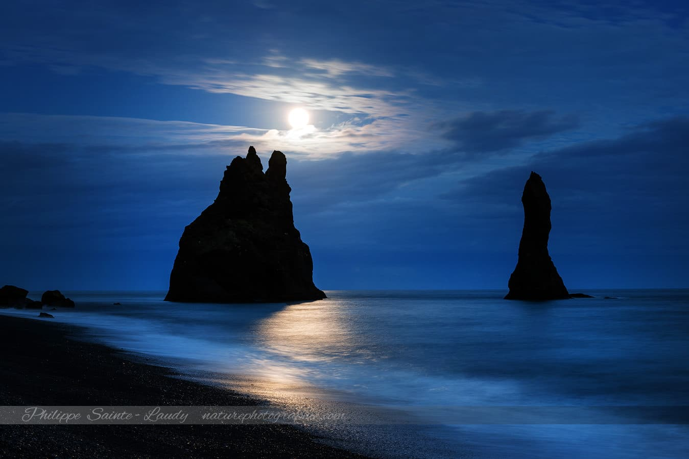 Reynisdrangar Moonlight