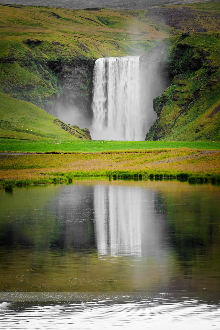 The Reflection Of Skógafoss