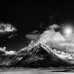 Les Lofoten en noir et blanc