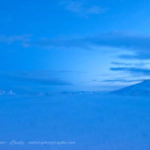 Nuit sans fin en Islande
