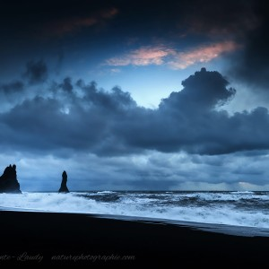 Plage de Vik en Islande