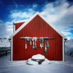 Rorbu en Norvège