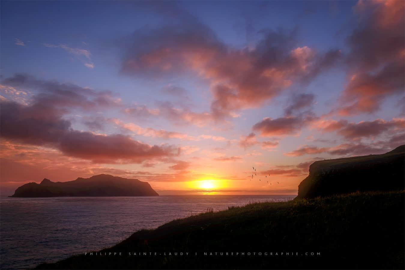 Fin de notre voyage aux les f ro nature photographie - A quelle heure le soleil se couche aujourd hui ...