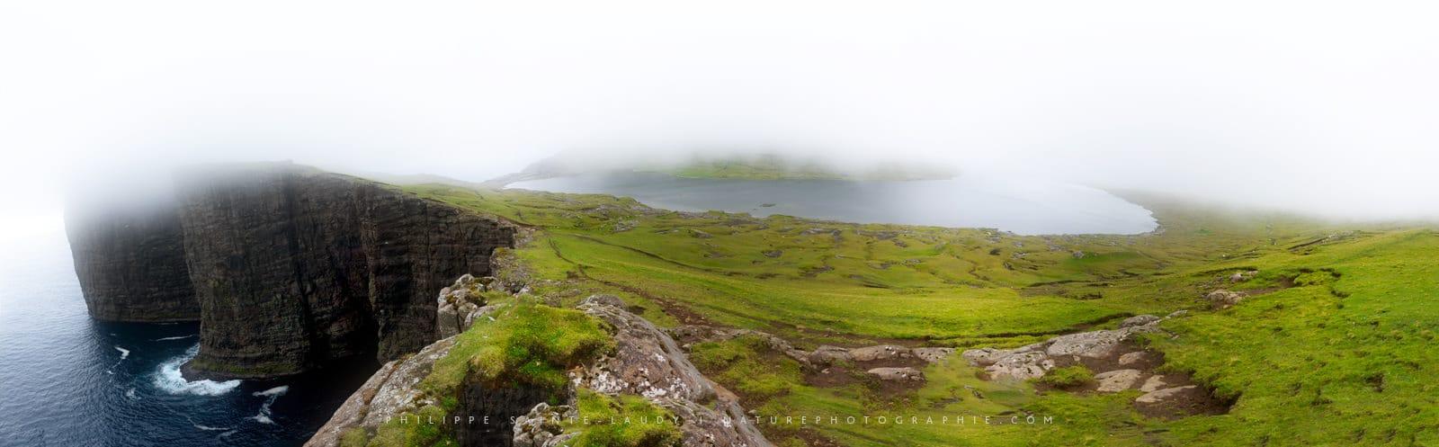 Sørvágsvatn Panorama