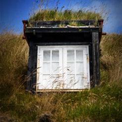 Maisons des îles Féroé en paintography