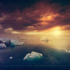 Jökulsárlón, le lac de glace