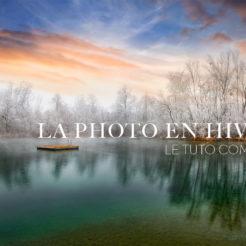 La photo de paysages en hiver