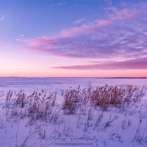 Levé du soleil en Finlande