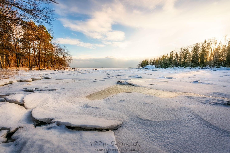 Oulu et sa plage