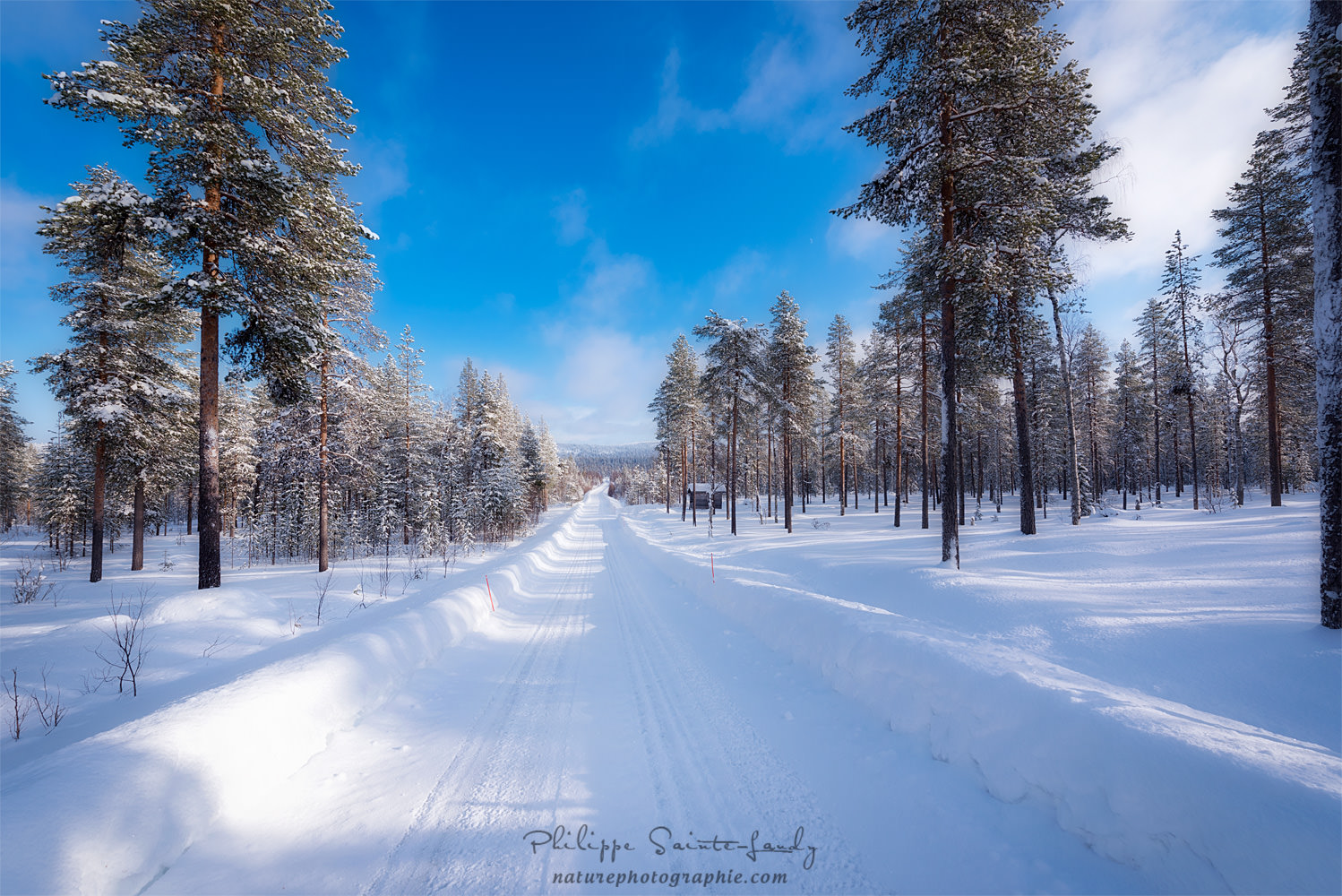 On the roads of Finland
