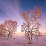 Lever de soleil à Oulu