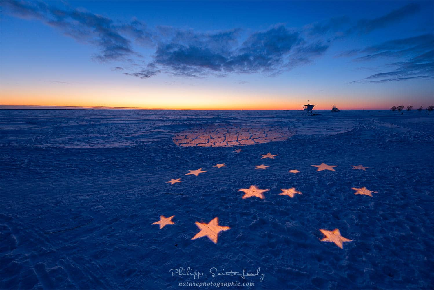 The Stars are on the Beach