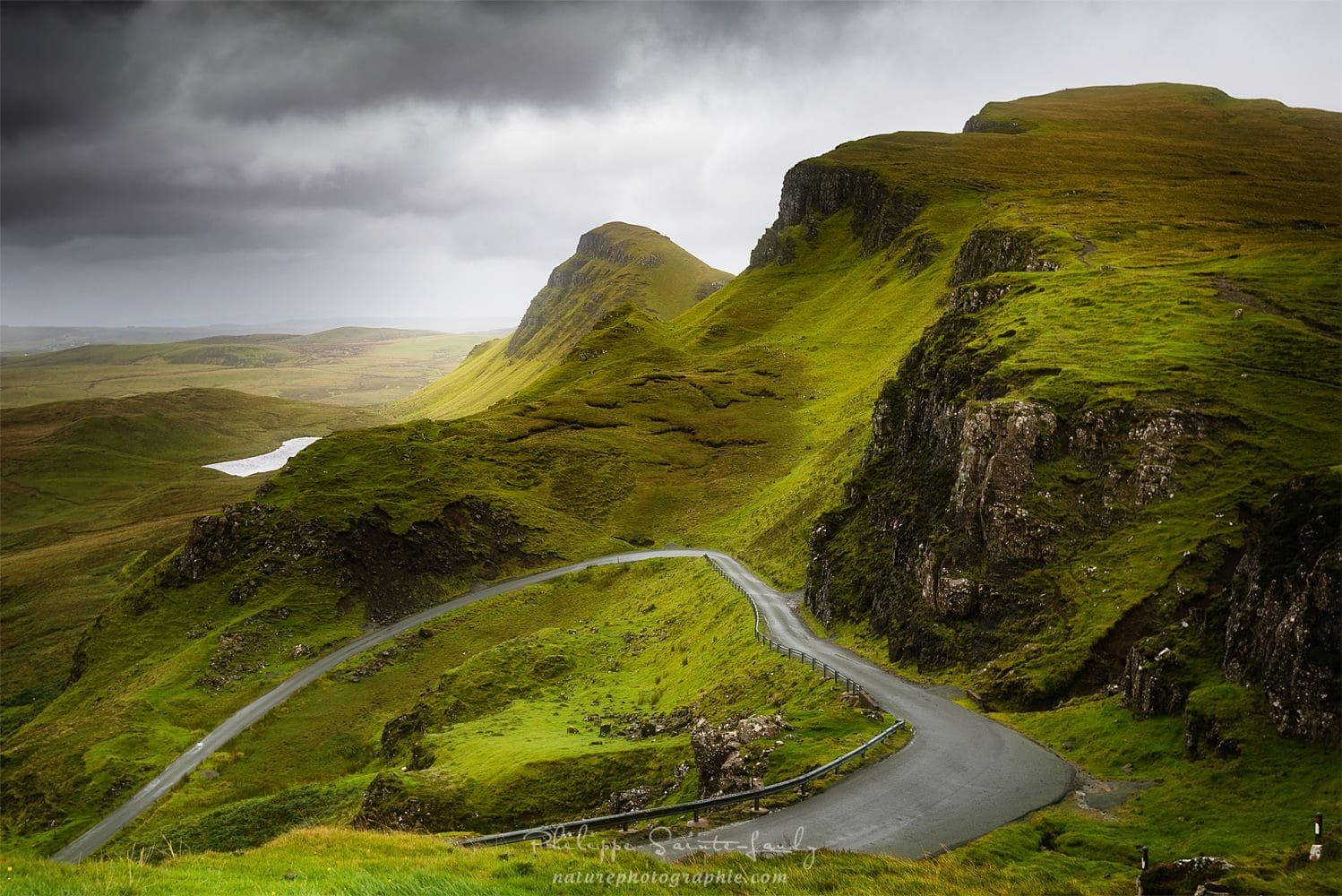A heart on the Quiraing