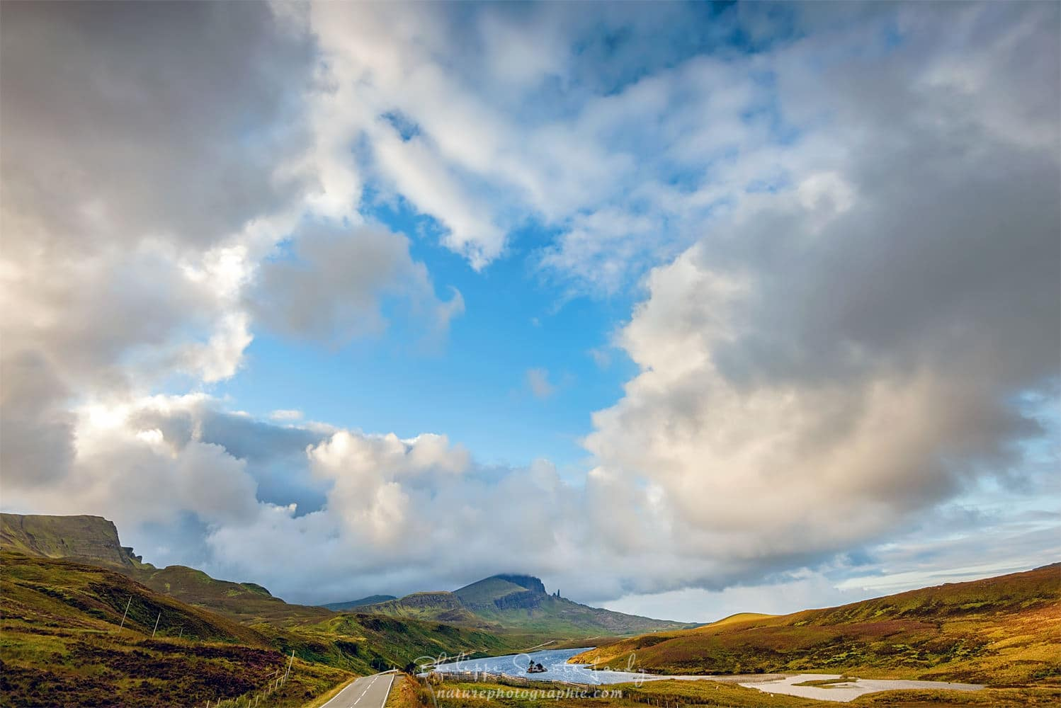 Old Man of Storr in the Sky