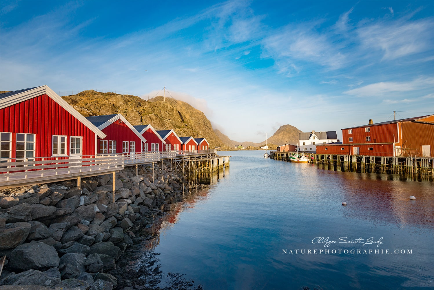 The Fishing Port of Mortsund