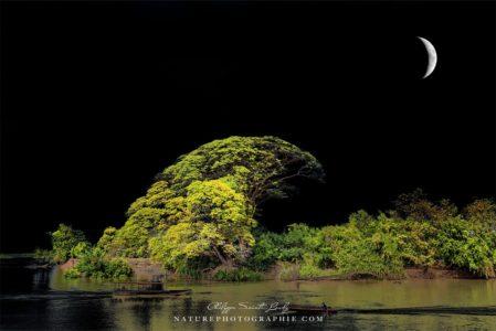 ciel noir au Laos