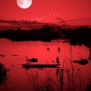 photo rouge du Laos