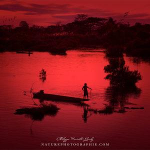 Un autre coucher de soleil sur Don Det au Laos