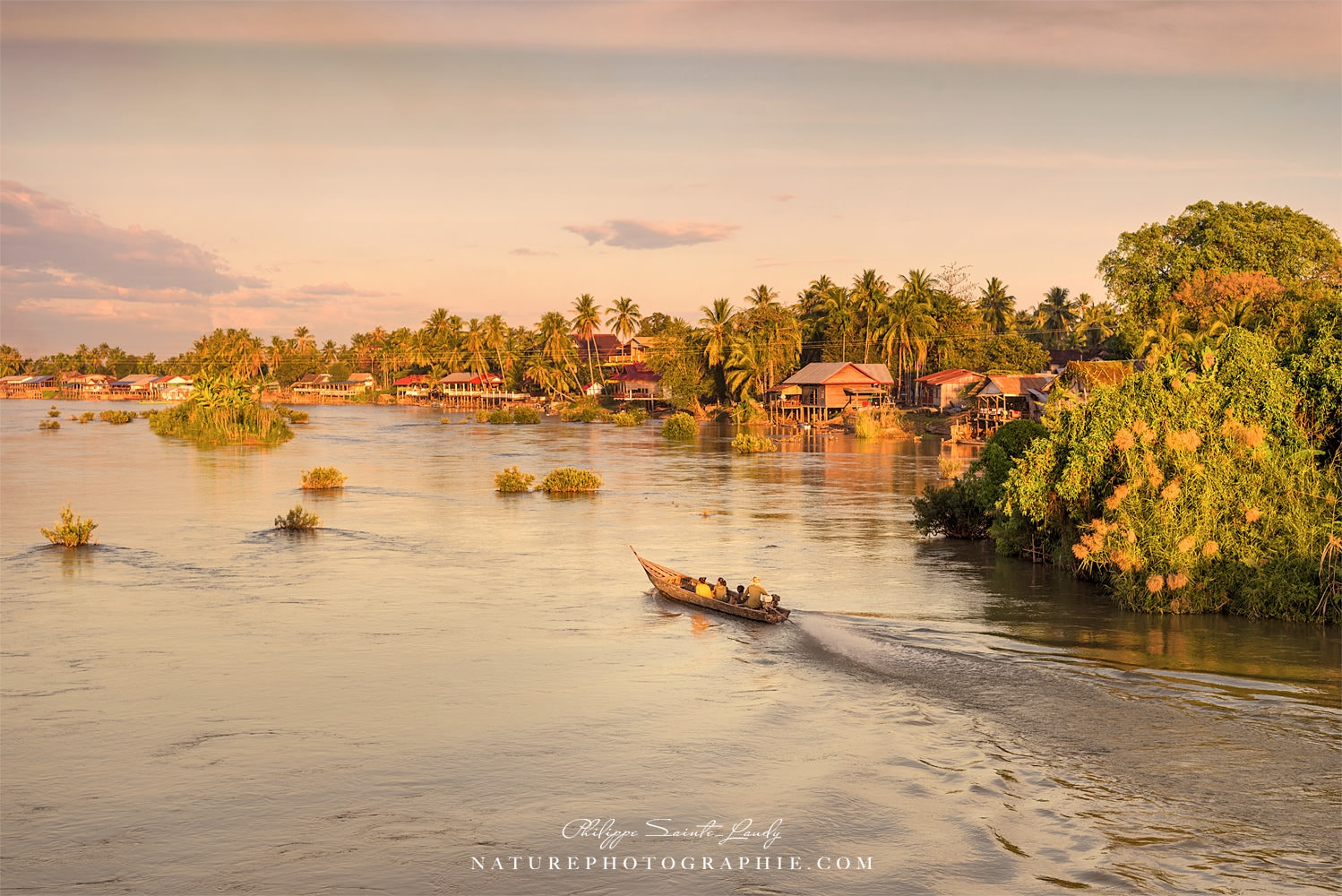 the Mekong at the End of the Day