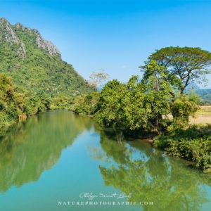 Bras du Mekong à Vang Vieng