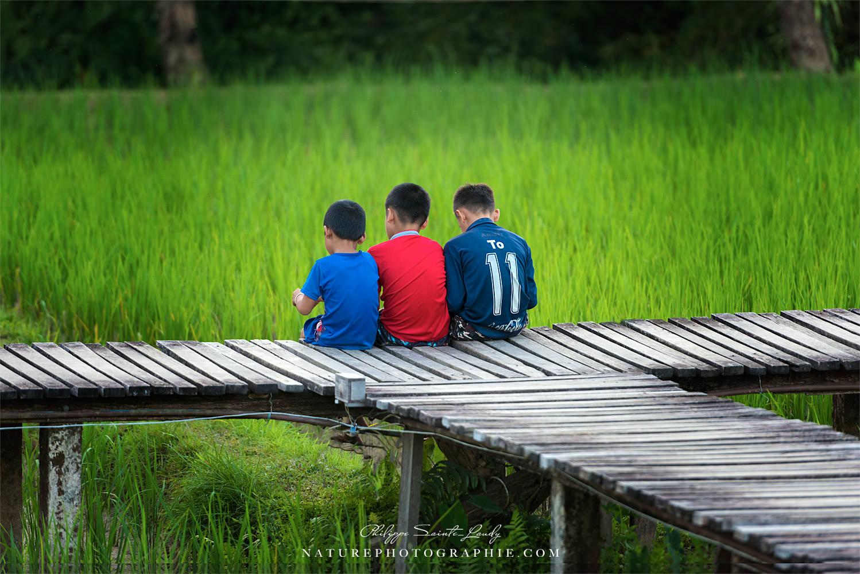 Enfant au Laos