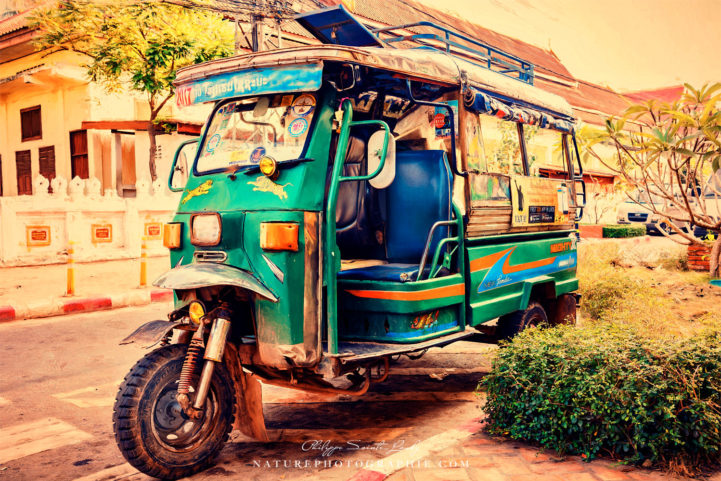 Tuk yuk au Laos