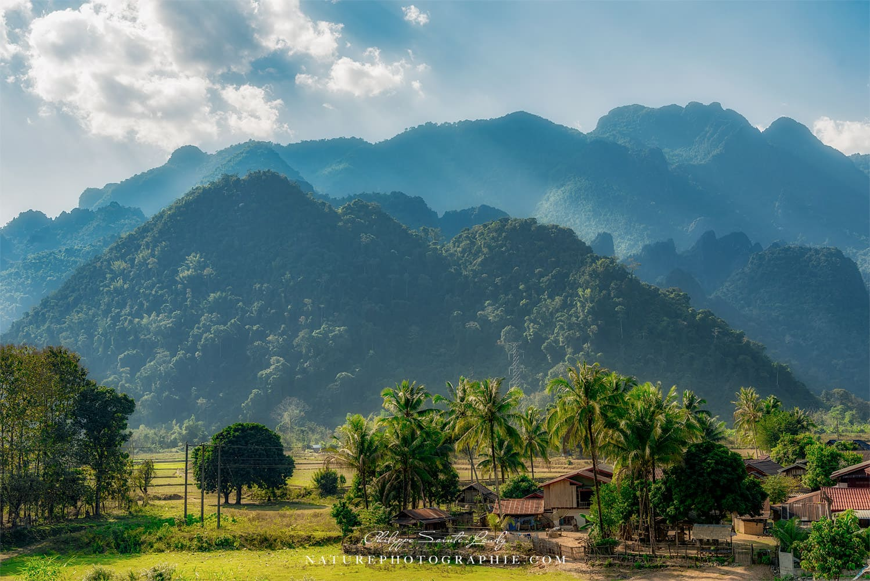 Montagnes près de Vang Vieng