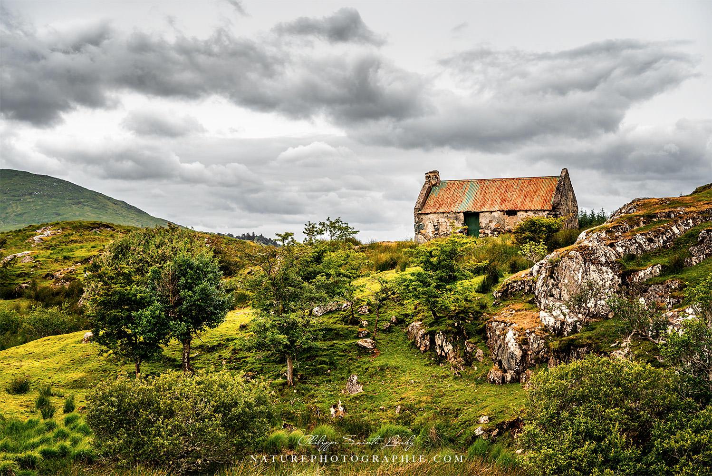 Une maison de berger dans le Connemara