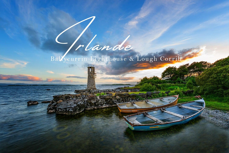 Ballycurrin Lighthouse - Lough Corrib