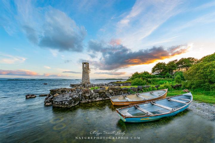 Ballycurrin Lighthouse in the Mood