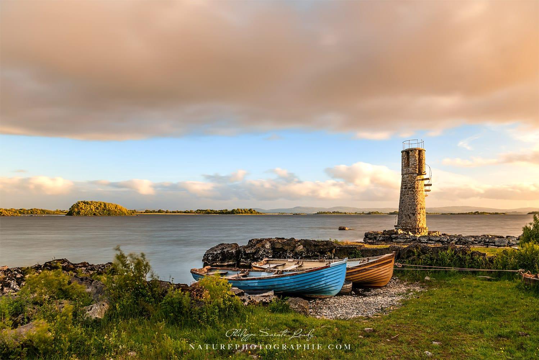 L'ancien phare du lac Corrib - Irlande