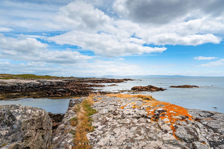 Les rochers d'Irlande