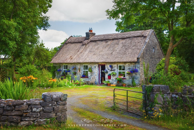 Paintographie d'une ferme Irlandaise