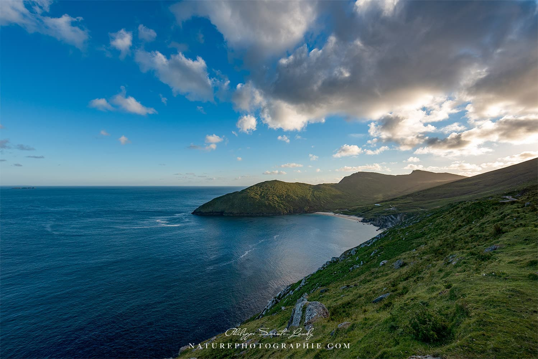 Vu depuis les hauteurs de Keem Bay - Irlande
