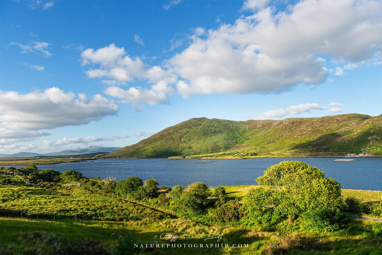 Lac en Irlande - Connemara