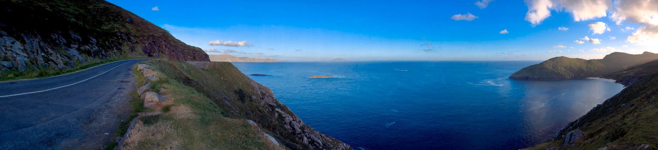 Panorama Keem bay