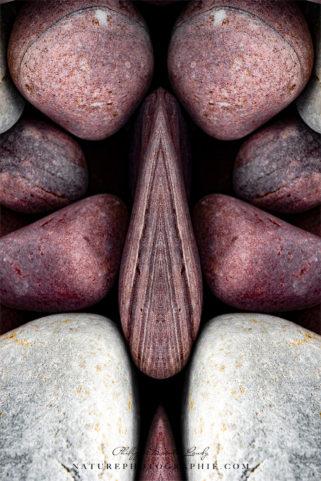 Pebbles Optical Illusion