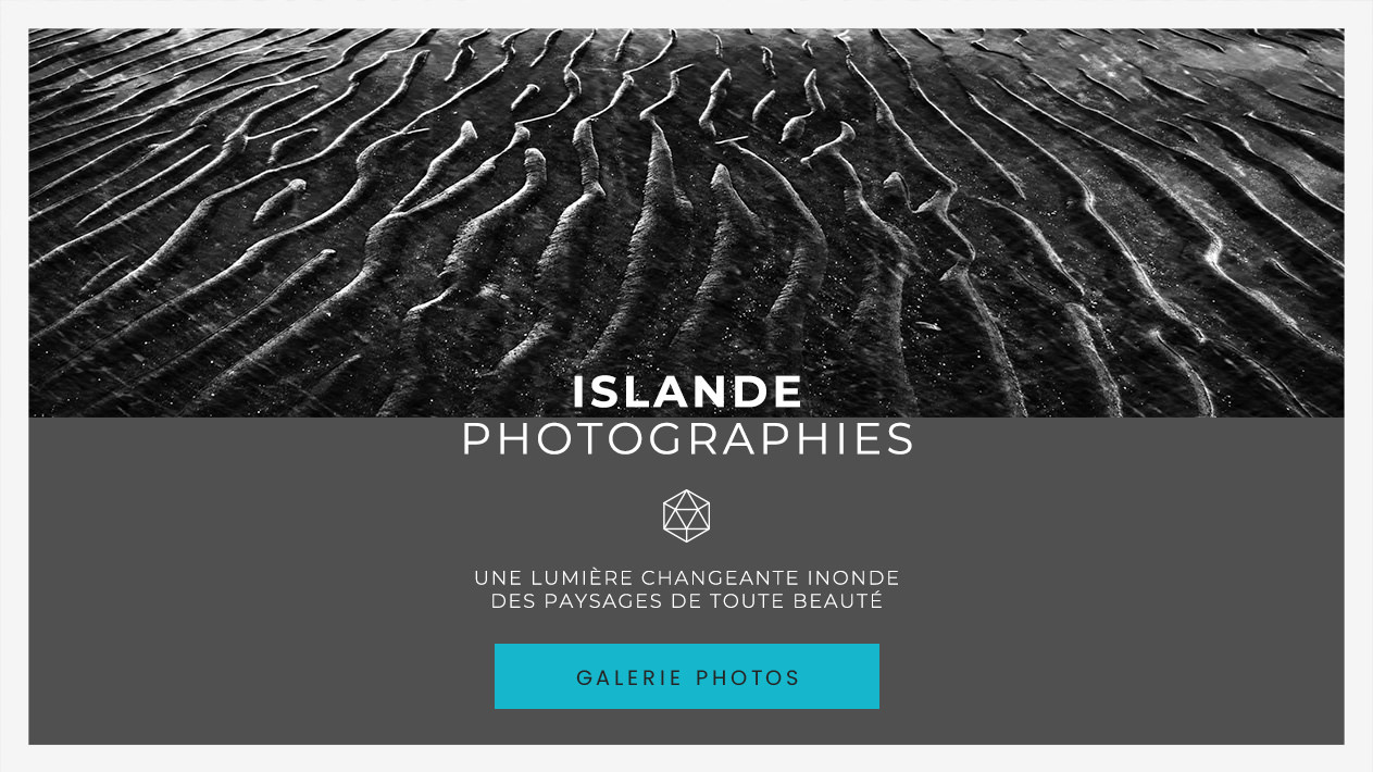 Les photographies d'Islande