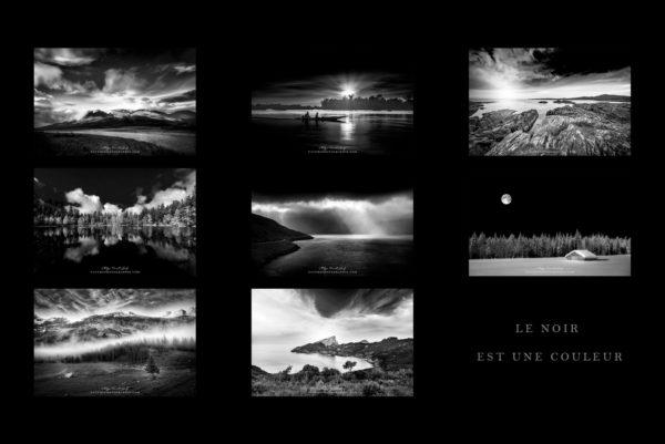 Paysages en noir et blanc