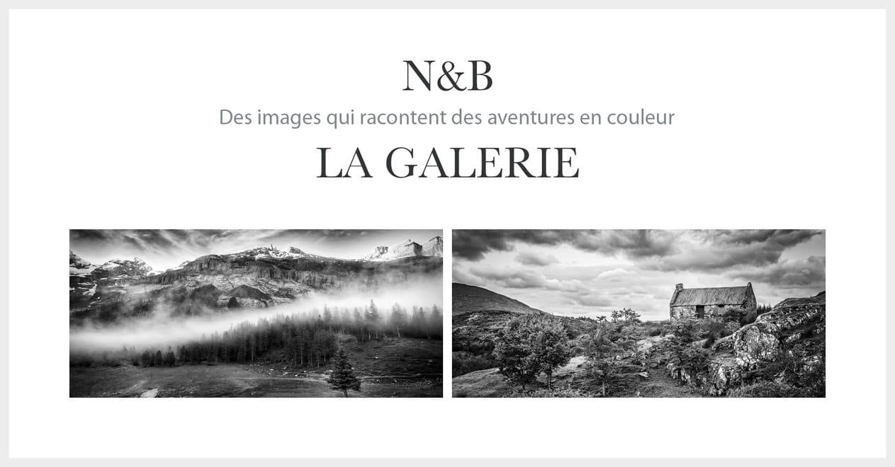 La galerie photos N&B
