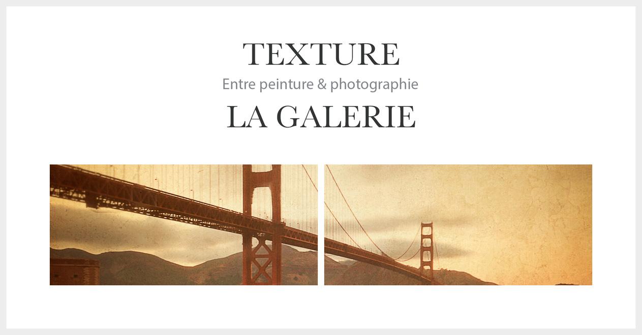 La galerie des photos avec textures