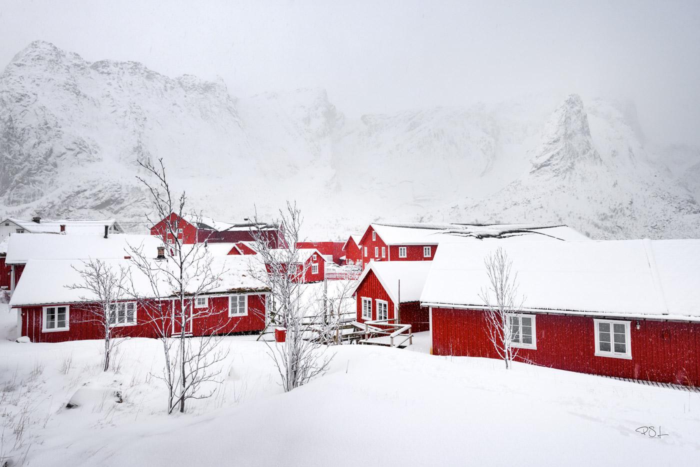 Reine, village des Lofoten - Norvège
